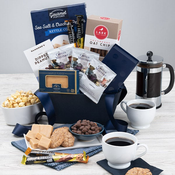 Coffee & Chocolates Gift Basket Classic
