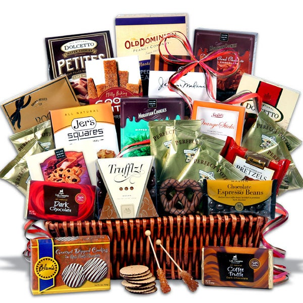 Coffee and Chocolates Gift Basket Deluxe™