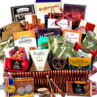 Coffee and Chocolates Gift Basket Deluxe™ (4073)