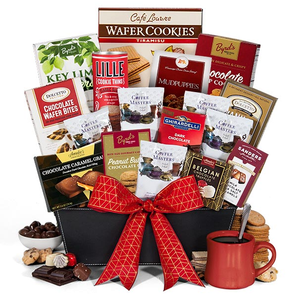 Coffee and chocolates gift basket premium by gourmetgiftbaskets coffee chocolates gift basket premium negle Choice Image