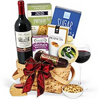Corporate Gift Basket Red Wine
