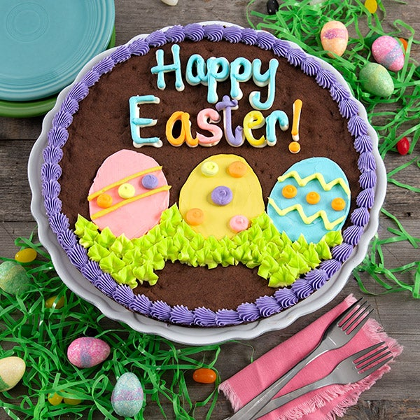 Happy Easter Brownie Cake 8897