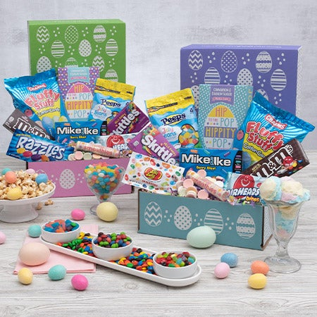 Easter Basket for College Students by GourmetGiftBaskets.com