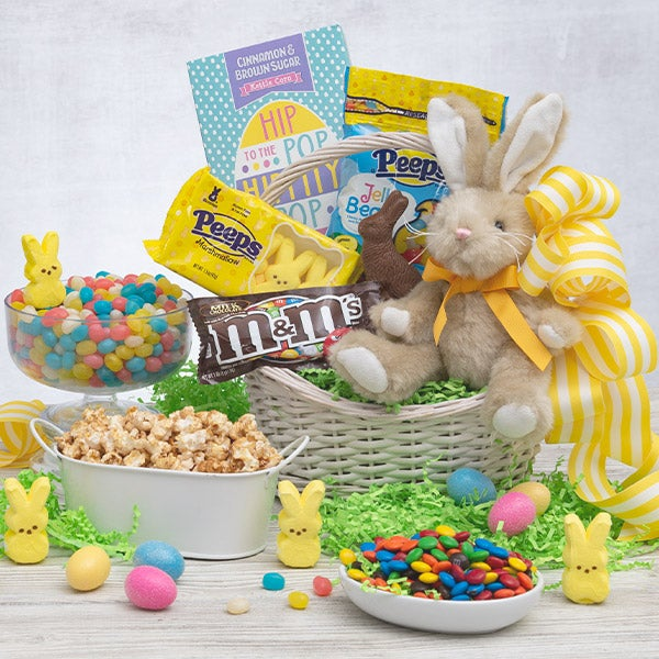 This Gourmet Experience Includes. Easter Sweets & Treats Basket