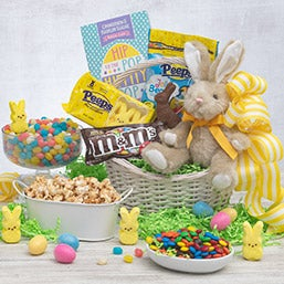 Easter gift baskets easter boxes delivered gourmetgiftbaskets easter sweets amp treats basket negle Gallery