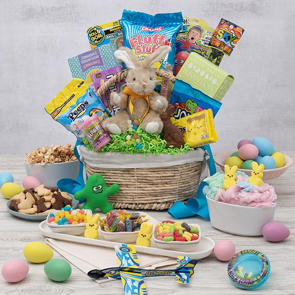 Easter gift baskets easter boxes delivered gourmetgiftbaskets ultimate easter gift basket negle