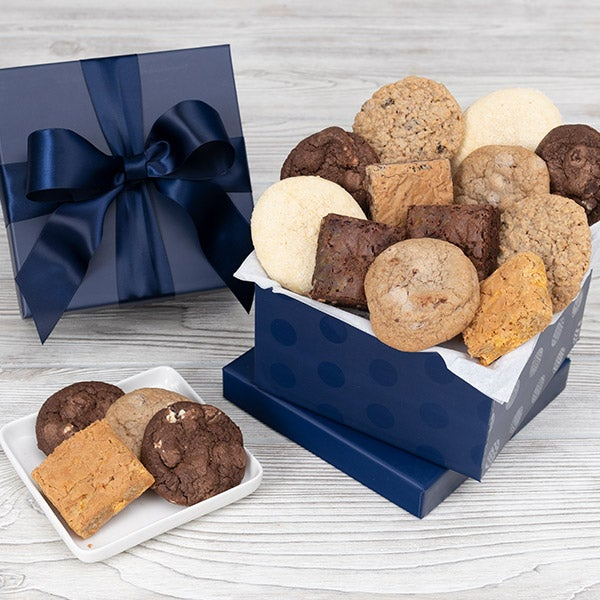 Father's Day Cookie & Brownie Gift Box 8988