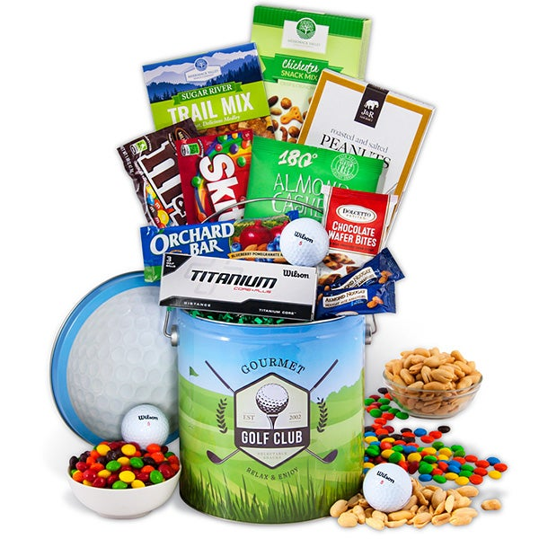 Hole in ONE - Father's Day Golf Gift by GourmetGiftBaskets.com