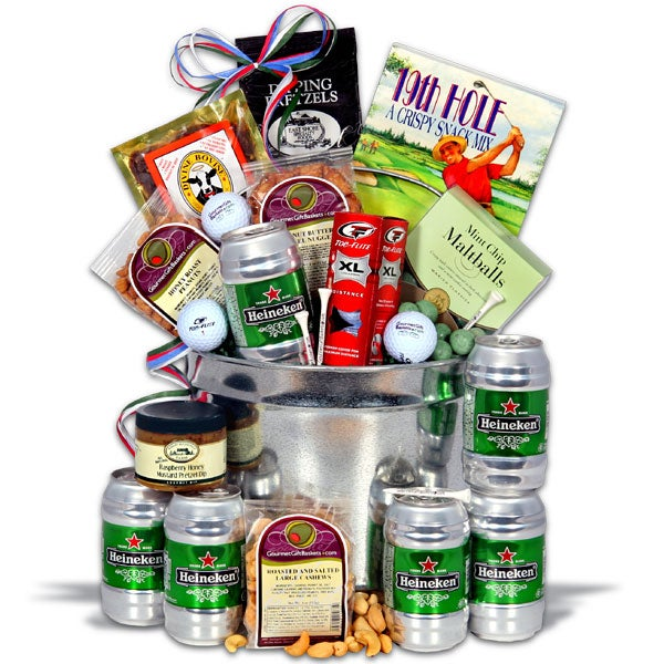 Father S Day Golfing Gift Basket 19th Hole