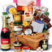 Afternoon In Paris™ - Non-Alcoholic Gift Basket (5118)