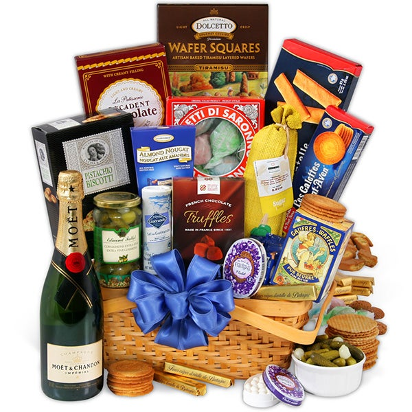 Weekend In Europe Gift Basket By GourmetGiftBaskets.com