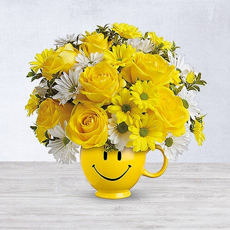 Teleflora's Be Happy Bouquet Deluxe