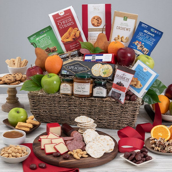 Bountiful harvest fruit gift basket by gourmetgiftbaskets bountiful harvest fruit basket negle Gallery
