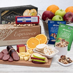 Nature's Picnic - Fruit Gift Basket (4406)