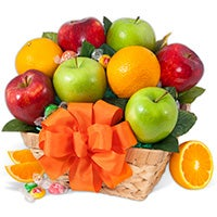 Purely Fruit - Fruit Gift Basket (4402)