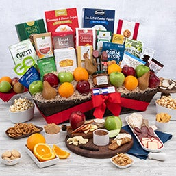 """Signature Series"" Fruit and Gourmet Gift Basket (5406)"