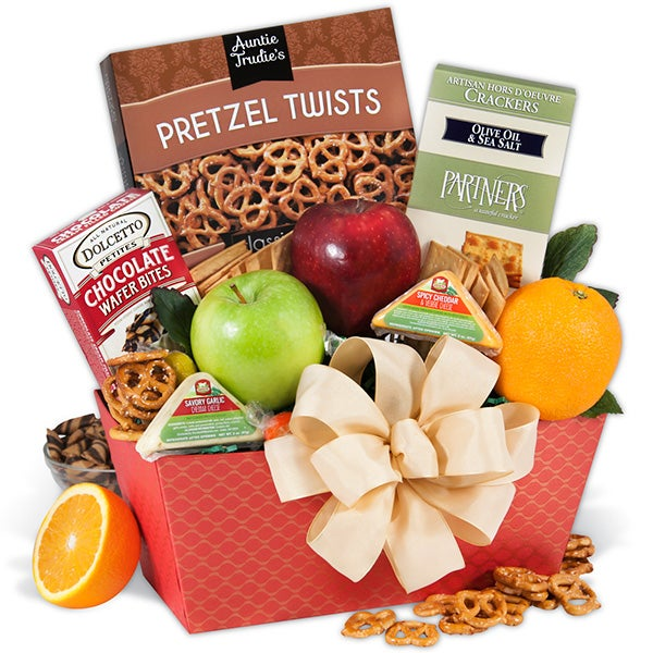 Treats from the orchard fruit gift basket by gourmetgiftbaskets treats from the orchard fruit baskets negle Gallery