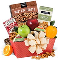 Treats From The Orchard Fruit Gift Basket (5524)