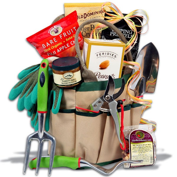 Garden gift basket creating a garden gift basket birds and blooms classic gardening gift basket by gourmetgiftbasketscom workwithnaturefo