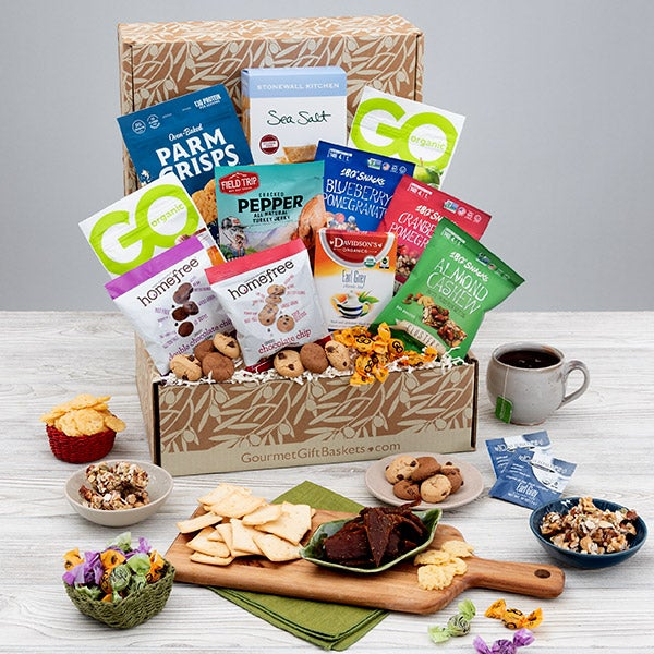 Healthy gift baskets by gourmetgiftbaskets gluten free gift basket classic negle Choice Image