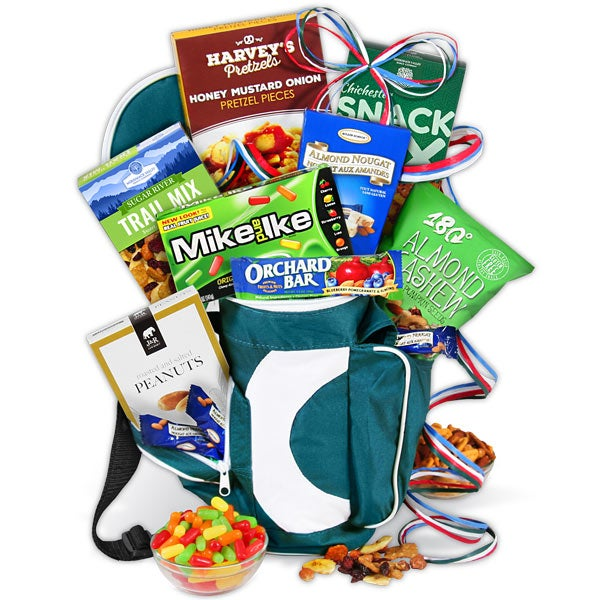 Gift baskets for men by gourmetgiftbaskets golf gift basket hole in one golf bag negle Gallery