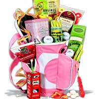 Ladies Tee Time™ Golf Gift Basket (4327)