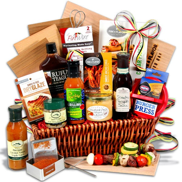 The Charcoal Connoisseur - BBQ Gift Basket