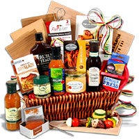 The Charcoal Connoisseur - BBQ Gift Basket (4083)