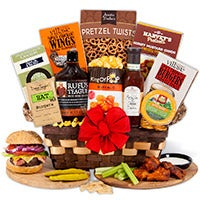 The Flame Enthusiast™ - BBQ Gift Basket (4081)