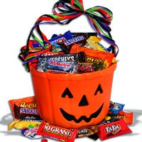 Choc-O-Lantern Halloween Gift Basket - (RETIRED) (4754)