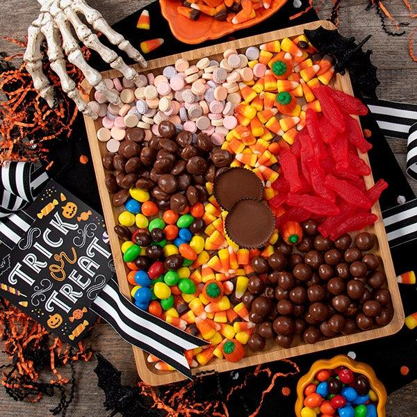 Halloween Candy Charcuterie Platter