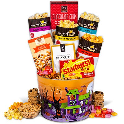 Halloween Snack Tin