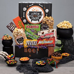 Halloween gift baskets by gourmetgiftbaskets haunted halloween care package negle Image collections