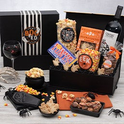 Witch's Cauldron Halloween Gift Basket (4757)