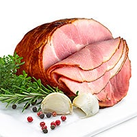 Smoked Apple-Cured Half Boneless Ham (5-7 lbs) (4141)
