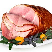 Smoked Apple Cured Whole Boneless Ham (12-14 lbs) (4142)