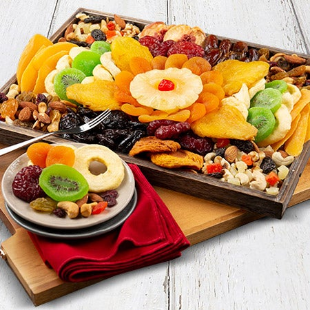 fruit platter is dried fruits healthy