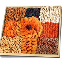 Executive Rose™ - Dried Fruits & Nuts Platter (4208)