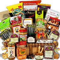 "International ""Signature Series"" Healthy Gift Basket (1987)"