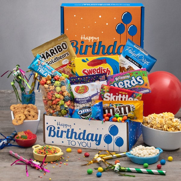 This Gourmet Experience Includes International Birthday Care Package