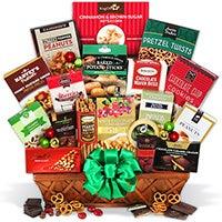 International Christmas Gift Basket Deluxe