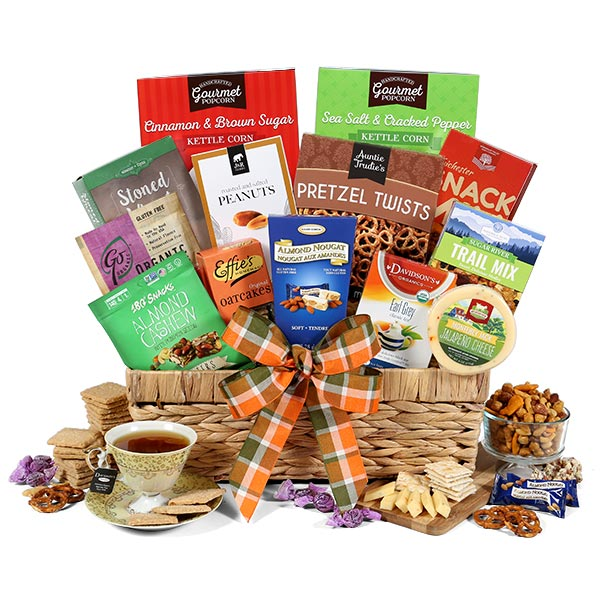 International Healthy Gift Basket Premium