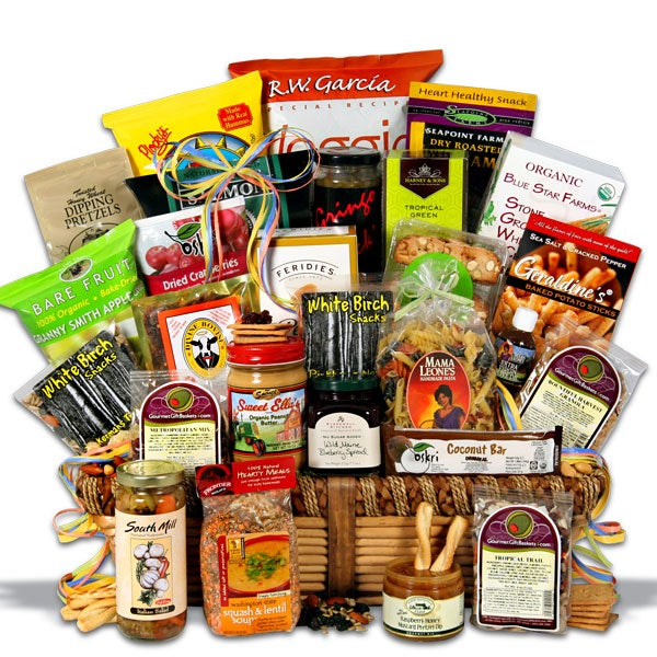"International ""Signature Series"" Healthy Gift Basket"