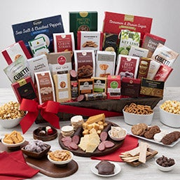 "International ""Signature Series"" Executive Suite Snack Gift Basket (1988)"