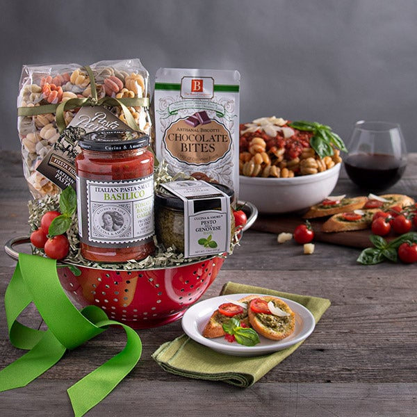 Cooking Gift Basket Italian By