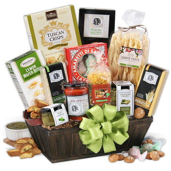New years gift baskets by gourmetgiftbaskets tour of italy italian gift basket negle Images