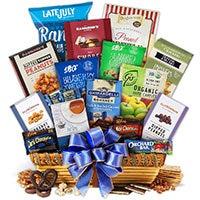 Kosher Hanukkah Cornucopia™ Gift Basket (5270)