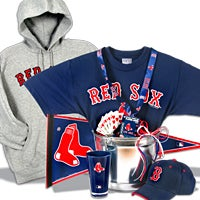 Boston Red Sox Gift Basket Deluxe (102B)
