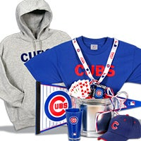 Chicago Cubs Gift Basket Deluxe (104B)