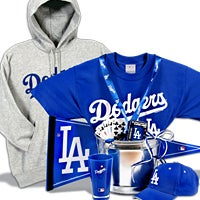 Los Angeles Dodgers Gift Basket Deluxe (106B)